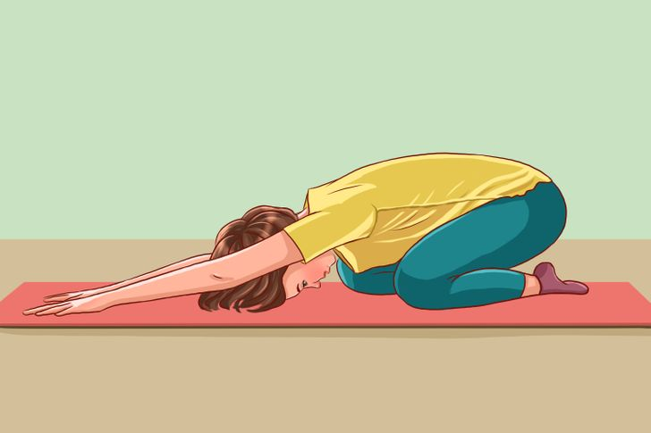 10 stretches to relax the spine after a hard day