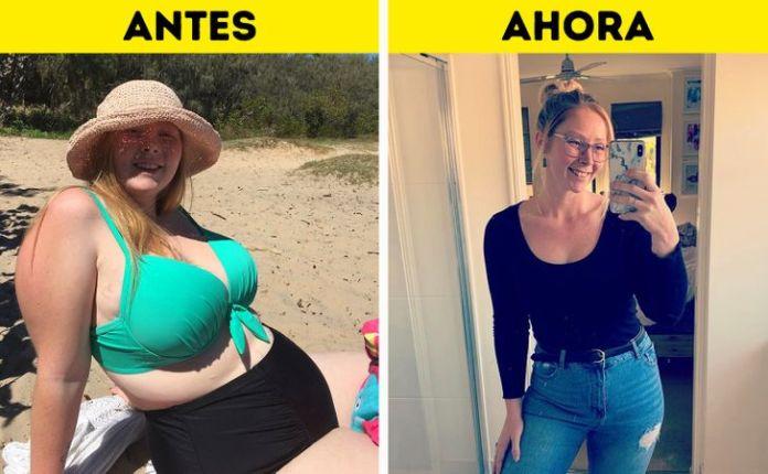 La increíble transformación de una joven madre y su secreto para bajar de peso
