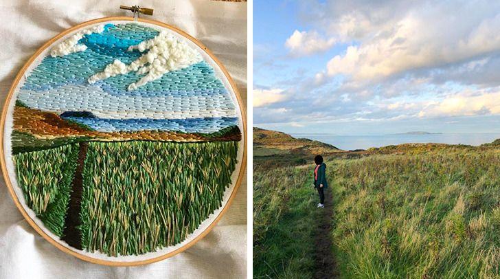 20 Artistas del bordado compartieron algunos de sus trabajos con el Internet