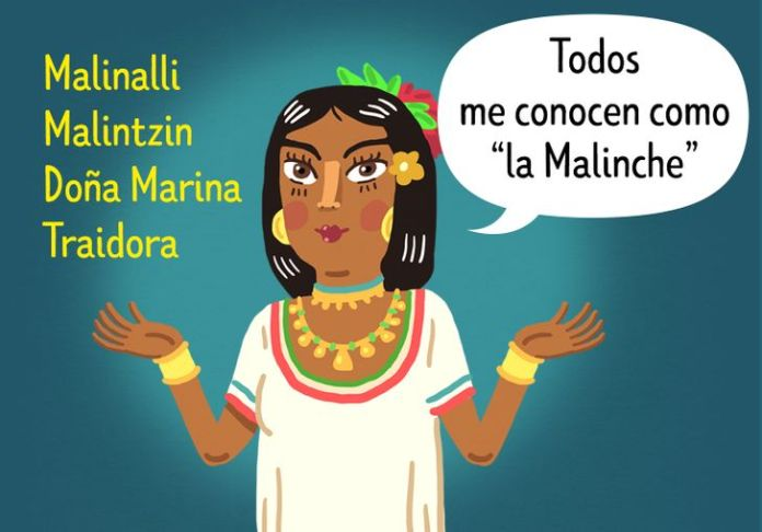 """""""La Malinche"""", a woman who was abandoned, sold, enslaved and accused of betraying her people"""
