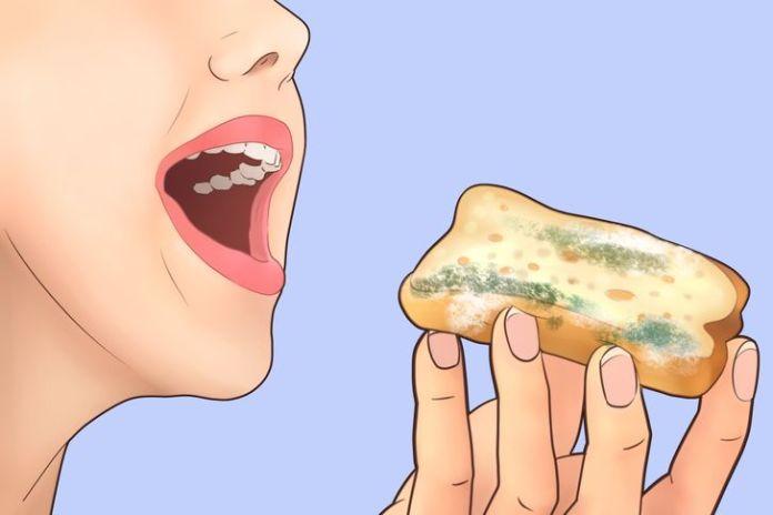 Alimentos mofados pode causar intoxicação