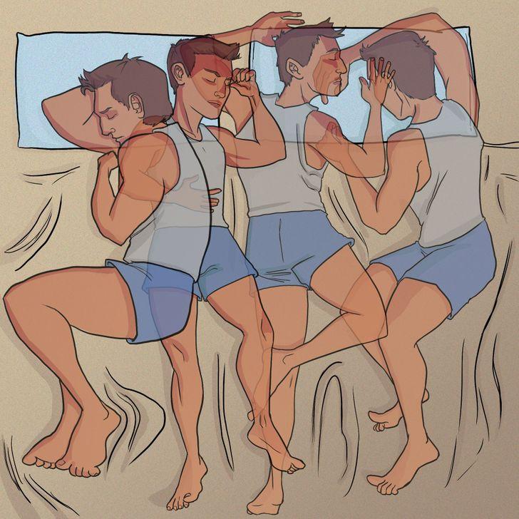 Pourquoi a-t-on parfois la sensation de tomber quand on dort ?