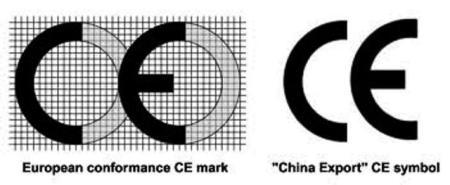 CE EU vs CE China Export