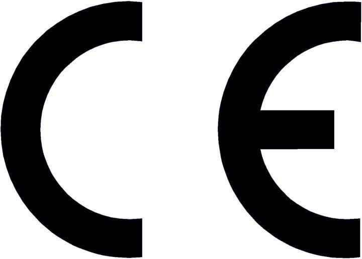 Oznakowanie obowiązkowe CE (Conformité Européenne) - wyrób zgodny z normami Unii Europejskiej