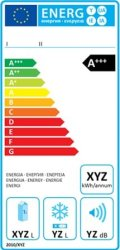 Etykieta energetyczna dla lodówek i zamrażarek - chłodziarek absorpcyjnych - wlaczoszczedzanie.pl