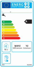 Etykieta energetyczna dla konwencjonalnych podgrzewaczy wody - wlaczoszczedzanie.pl