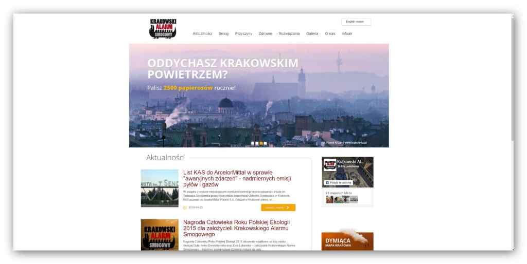 Założyciele Krakowskiego Alarmu Smogowego otrzymali nagrodę Człowieka Roku Polskiej Ekologii