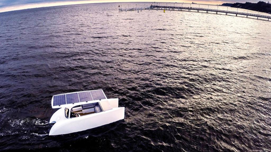 Solliner czyli polska eko łódź napędzana słońcem