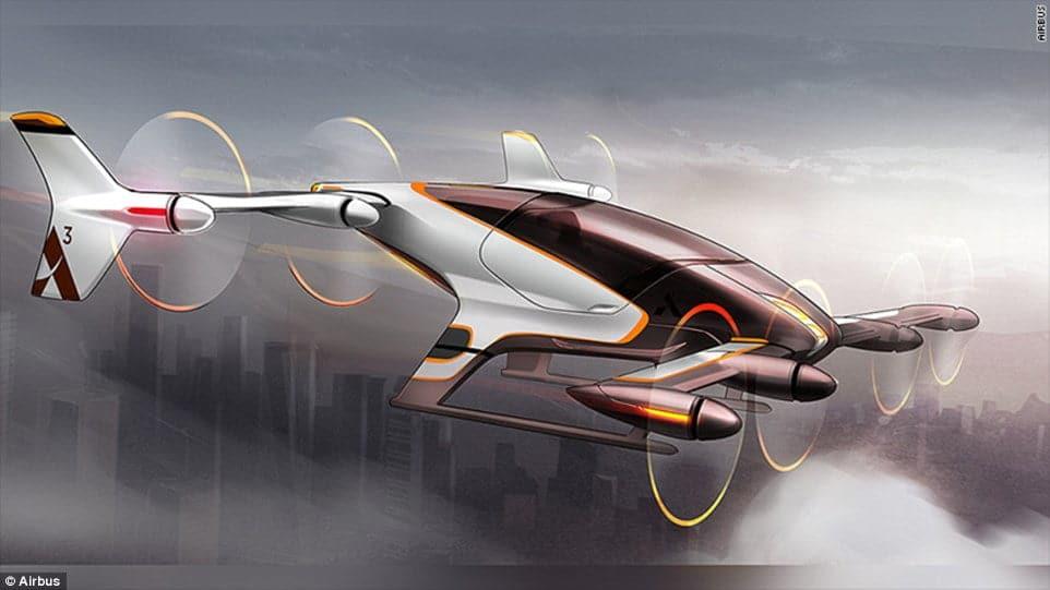 Vahana czyli powietrzna taksówka koncernu Airbus