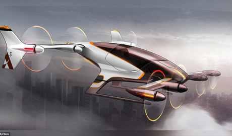 Vahana czyli powietrzna taksówka koncernu Airbuss