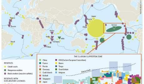 Polscy naukowcy odkrywają nieznane nauce gatunki skorupiaków z dna Centralnego Pacyfiku. Na obszarze tym mają powstać podwodne kopalnie odkrywkowe