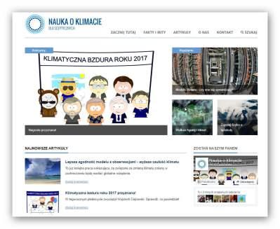 Zespół portalu Nauka o klimacie od kilku lat popularyzuje wiedzę o zmianach klimatu i globalnym ociepleniu