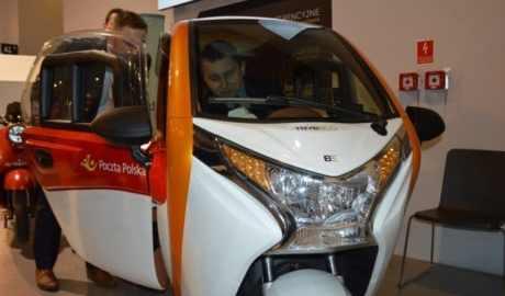 Powstał pierwszy w Polsce zabudowany, zeroemisyjny, elektryczny pojazd trójkołowy na homologacji skutera