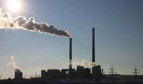 Wyciek niebezpiecznej substancji z zakładów chemicznych Krymski Tytan w Armiansku
