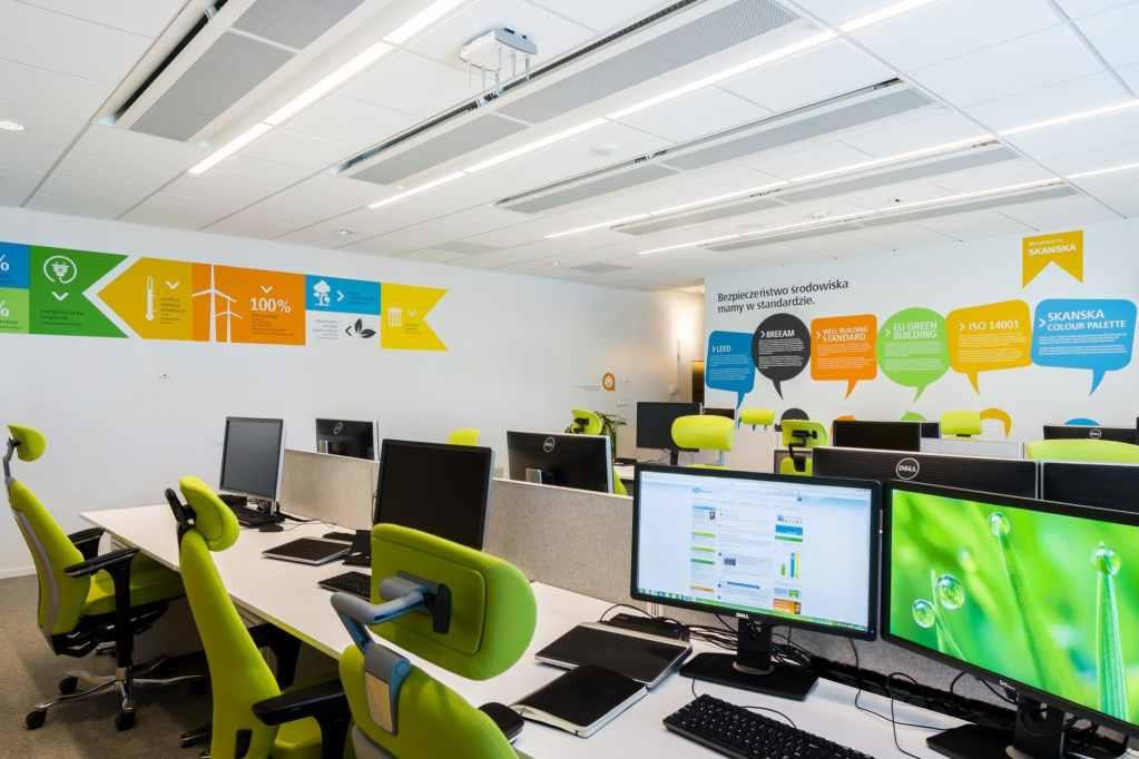 Komfort termiczny to jeden z ważniejszych aspektów zdrowego, zielonego biura