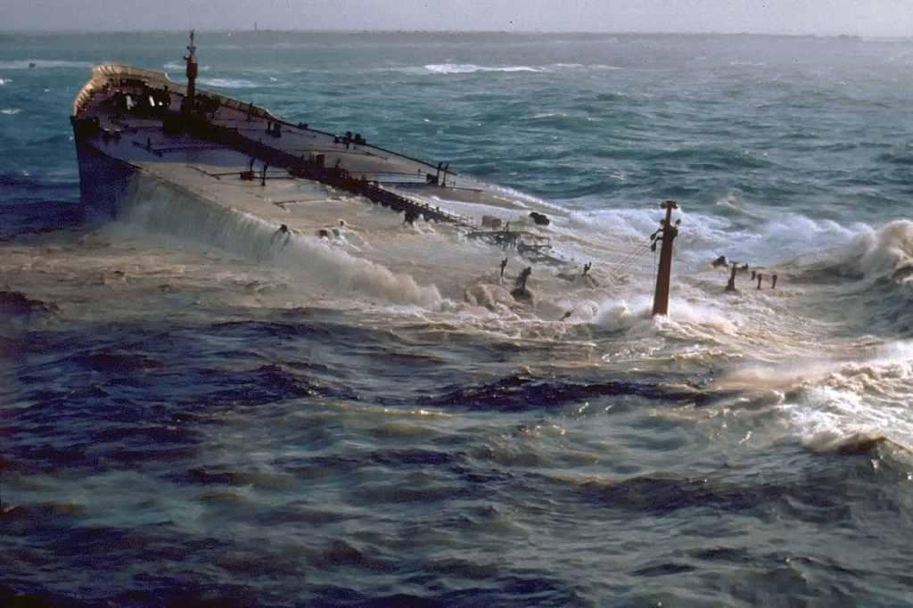 Zatonięcie tankowca Amoco Cadiz