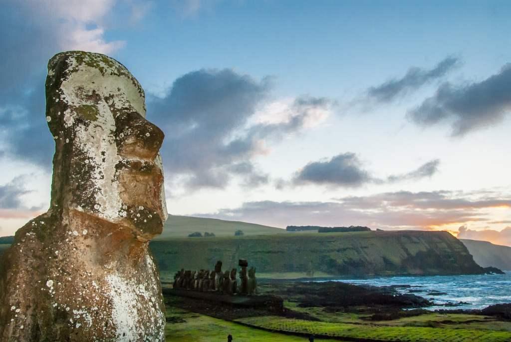 Wyspa Wielkanocna - wylesienie, erozja gleby i zniszczenie naturalnego ekosystemy wyspy