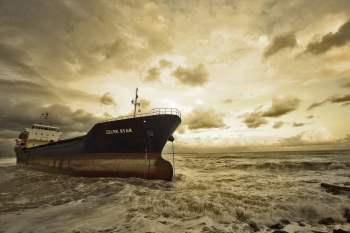 Katastrofa tankowca czyli katastrofa antropogeniczna - spowodowana przez człowieka