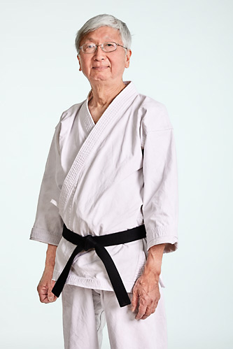 Sensei Steve Young. Head instructor at West Los Angeles Karate