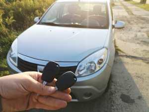 Odtworzenie kluczy z pilotem - Dacia Sandero 2010