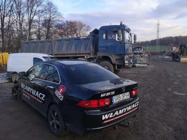 Samochód Włamywacza - profesjonalny ślusarz z Rybnika