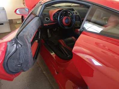 Awaryjne otwieranie Lamborghini