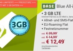 günstiger Handyvertrag unter 15 Euro BASE