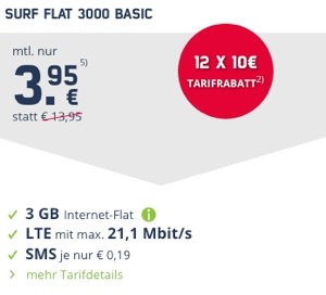 o2 Internetflat im Auto Datentarif