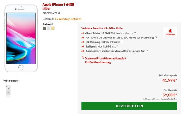 Iphone X Mit Günstigem Vertrag