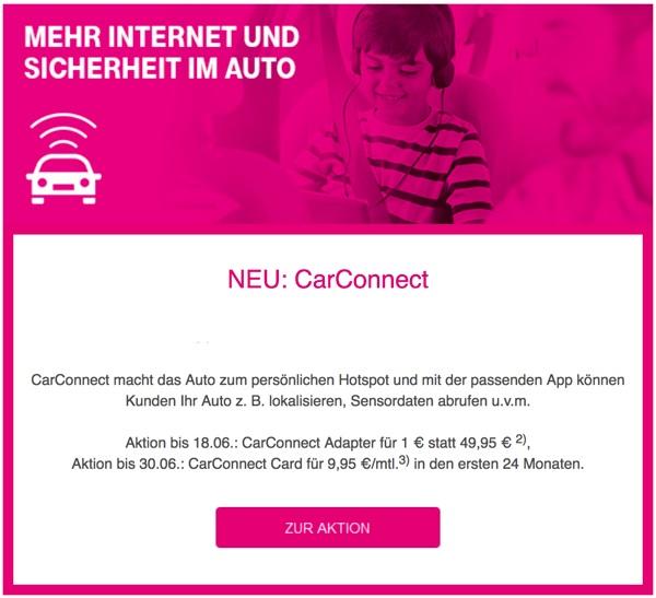 Telekom CarConnect günstiger kaufen