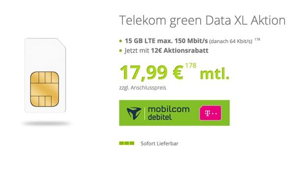 günstiger LTE Telekom Datentarif
