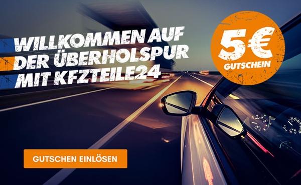 kfzteile24 5 Euro Newsletter Gutschein