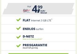 günstiger Datentarif Vodafone LTE Netz