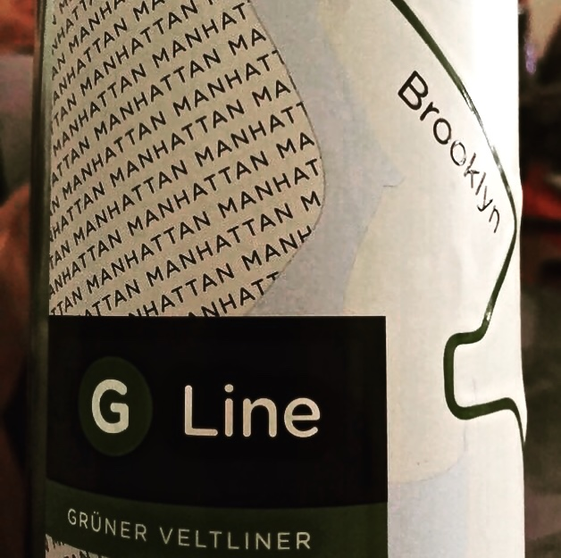 Lable from Bottle of G Line Gruner Veltliner 20XX