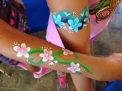 Beautiful arm painting.