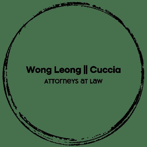 logo for Wong Leong Cuccia Law Firm - criminal defense attorneys Hawaii