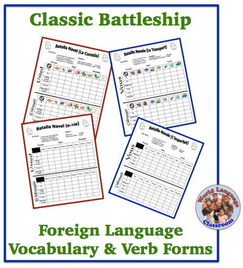 Classic Battleship in the Foreign (World) Language Classroom (French, Spanish) wlteacher.wordpress.com