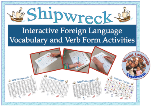 Foreign (World) Language Verb and Vocabulary Activity (French, Spanish) wlteacher.wordpress.com
