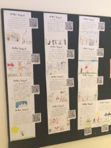 Using QR Codes to Record and Access Student Speaking (Foreign Language, French, Spanish) wlteacher.wordpress.com