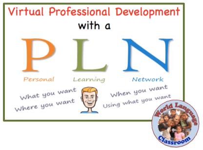 Virtual Professional Development with a Personal Learning Network (PLN) wlteacher.wordpress.com