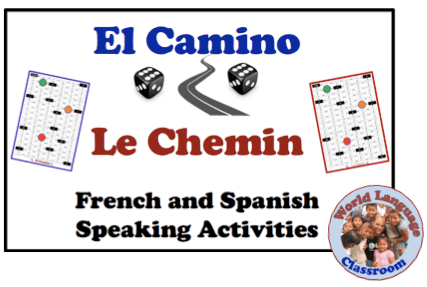 Foreign (World) Language Interactive Speaking Activity (French, Spanish) wlteacher.wordpress.com