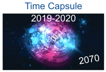 Students Create Time Capsule by Foreign Language Proficiency Level (French, Spanish)