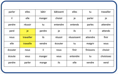 Digital Tool to Support Foreign Language (French, Spanish) Sentence Creation