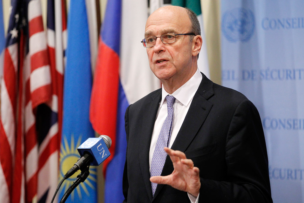UN special coordinator for Lebanon Derek Plumbly photo