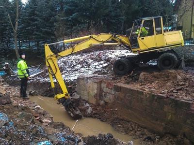 Trwa remont mostu w Strzyżowcu