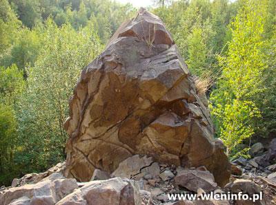 Agatowa skała