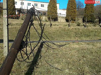 Kable na drodze