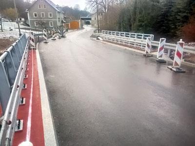 Remont mostu na finiszu
