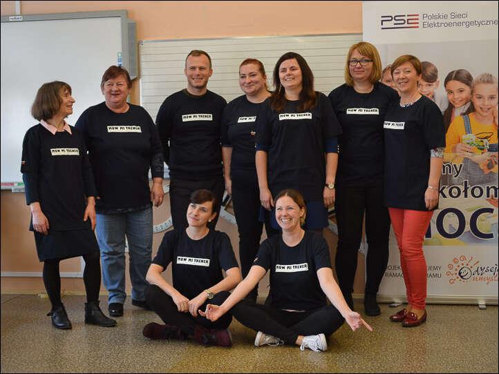 Polskie Sieci Elektroenergetyczne i fundacja Odyseja Umysłu wspierają rozwój nauczycieli i uczniów.