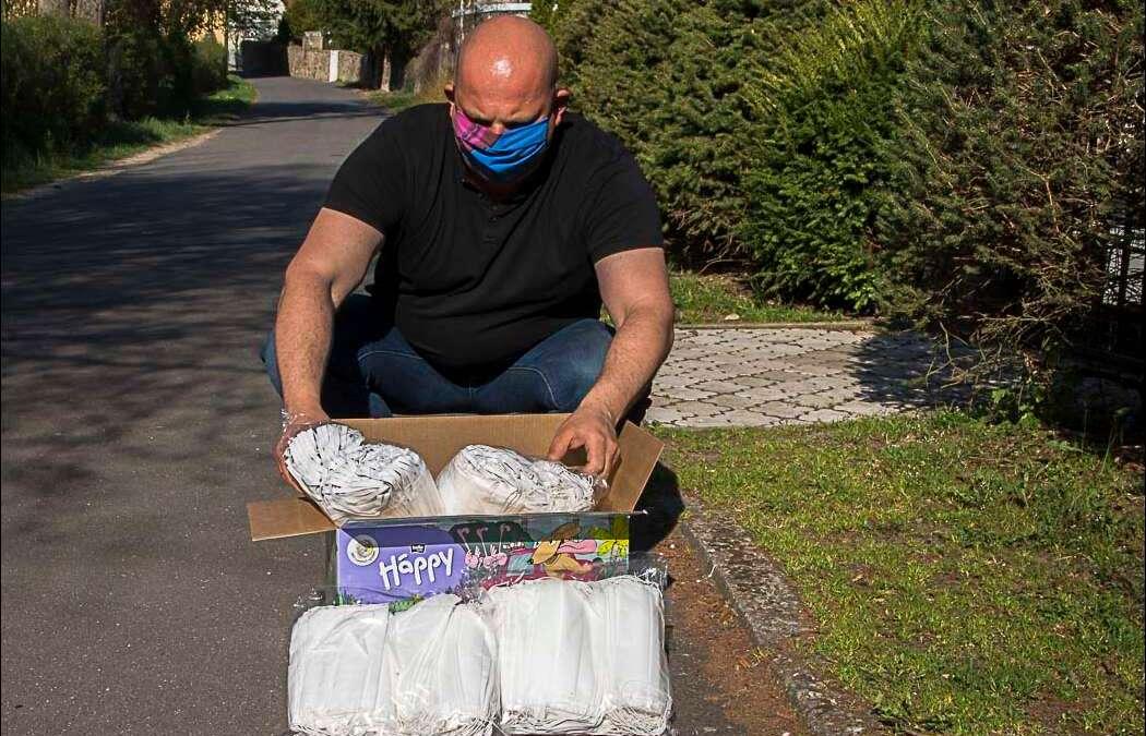 Siedemset maseczek dla mieszkańców gminy